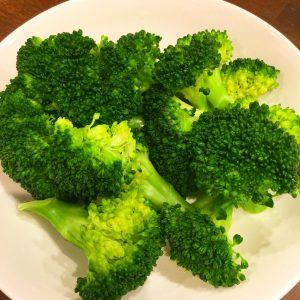 ブロッコリーを食べましょう(^◇^)
